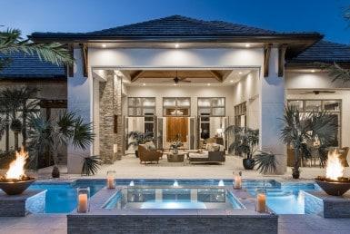 Architecturally Inspired British West Indies Estate Home